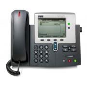 CISCO IP PHONE 7941G MGCP, SCCP y SIP - 2 Líneas - Pantalla Monocromo - Toma ordenador Ethernet Gigabit - Toma Auriculares -