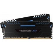 Kit Memorie Corsair Vengeance 2x16GB DDR4 3000MHz CL15 Blue LED
