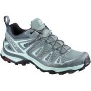 Salomon X Ultra 3 Hiking & Trekking Shoes For Women(Grey)