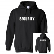 """Hoodie - Security (Front & Back Print)"""