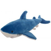 Tickles Blue Shark Soft Toy Stuffed Soft Plush Toy For Kids 38 Cm