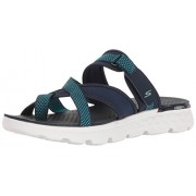 Skechers Performance Women's On The Go 400 Discover Flip Flop, Navy, 8 M US