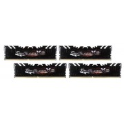 Memorie G.Skill Flare X (For AMD), DDR4, 4x8GB, 2400MHz, CL15 (Negru)