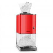 OneConcept Icebreaker машина за разбиване на лед 15кг/ч 3,5 литра, неръждаема стомана, кофа за лед, червена (OJ6-Icebreaker-R)