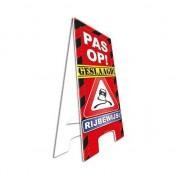 Merkloos Feestartikelen geslaagd rijbewijs bord