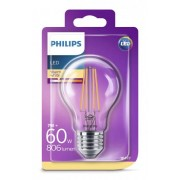 Philips LED Lamp E27 7W Peer Filament