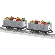 Lionel Trains Thomas and Friends Christmas Troublesome Trucks Train Cars (2-Pack)