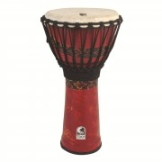 Toca Percussion Freestyle Djembe SFDJ-10RP Rope Tuned Bali Red