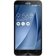 "Telefon Mobil Asus Zenfone 2 ZE551ML, Procesor Intel® Atom™ Z3580 Quad-Core 2.33GHz, IPS capacitive touchscreen 5.5"", 4GB RAM, 64GB Flash, 13MP, Wi-Fi, 4G, Dual Sim Activ, Android (Argintiu) + Cartela SIM Orange PrePay, 6 euro credit, 4 GB internet 4G, 2,"