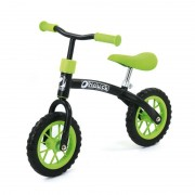 Bicicleta fara pedale E-Z Rider 10, varsta 2-4 ani, black green
