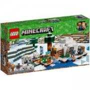 Конструктор Лего Майнкрафт - Полярно иглу, LEGO Minecraft, 21142