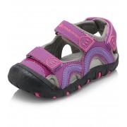 ALPINE PRO NIRAJ Dětské sandály KBTJ140889 amethyst 22