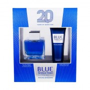 Antonio Banderas Blue Seduction For Men confezione regalo eau de toilette 100 ml + balsamo dopobarba 75 ml da uomo