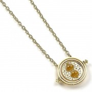 Carat Shop Harry Potter - Spinning Time Turner Pendant & Necklace (gold plated)