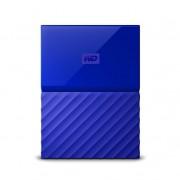 Disco Duro Externo USB3.0 de 4TB My Passport Azul, encriptación
