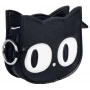 Banned Alternative Small Kitty Geldbörse-schwarz Onesize Damen