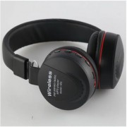 Mettle MS-771A Bluetooth Radio Frequency Headset with Mic (Black Over the Ear) .