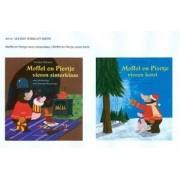 Kinderboeken Lemniscaat Sinterklaas - Moffel en Piertje vieren Sinterklaas/Kerst *