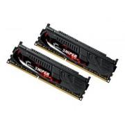 G.Skill SNIPER Series - DDR3U - 8 Go : 2 x 4 Go - DIMM 240 broches - 1600 MHz / PC3-12800 - CL9 - 1.25 V - mémoire sans tampon - non ECC
