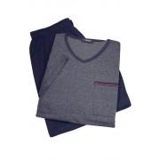 Garett pánské pyžamo - krátké AK8355-0 L tmavě modrá