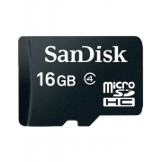 Card memorie SanDisk Micro SDHC 16GB Class 4 + Adaptor SD