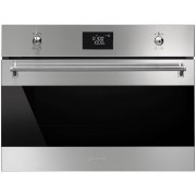 Smeg Classic SF4390MCX Built In Combination Microwave