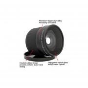 Lightdow 52mm 0.21X Fish Eye Super Wide Angle Fisheye Lens For For Camera Lenses Af-s 18-55mm F/3.5-5.6, Af 24mm 28mm F/2.8, Af 35mm 50mm F/1.8, Af 50mm F/1.4, Af-s 55-200mm F/4-5.6, Af-s 85mm F/3.5, Af-s 200-400mm F/4 Canon Nikon Sony DSLR