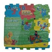 Sesame Street Alphabet & Numbers Foam Floor Puzzle