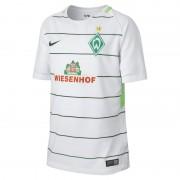 2017/18 Werder Bremen Stadium Away Fußballtrikot für ältere Kinder - Weiß