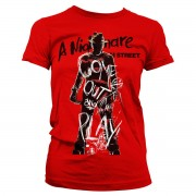 Come Out And Play Girly Tee