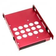 HDD Tray Lian Li HD-07R, 3.5 inch, aluminiu, culoare rosie