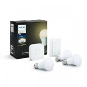 Philips Hue White 9,5W E27 Startpaket 3 pack