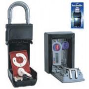 Lucchetto con cassetta porta oggetti - Alubox