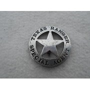 Costume Badge Texas Ranger Special Agent Old West Prop by Collectible Badges