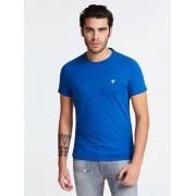 Guess T-Shirt Ronde Hals - Blauw - Size: Medium