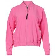 Skechers Go Walk Bomber chamarra para mujer, Rosa (Phlox Pink), XL