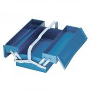 Caisse à outils, vide, 3 compartiments, 160x420x225 mm - 1263 L