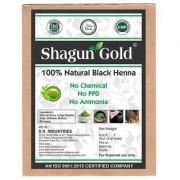 Shagun Gold 100 Percent Natural Black Hair Colour ( Set Of 2) 200gm