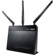 Asus RT-AC68U - Trådlös Dual Band Gigabit router, 802.11ac/a/b/g/n, 2,4/5GHz, 4x