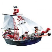 Playmobil Pirates #5950 Set Skull Bones Pirate Ship