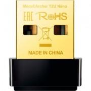 TP-Link AC600 Nano Wi-Fi USB Adapter,433Mbps at 5GHz + 200Mbps at 2.4GHz, USB 2.0, Nano Design