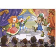 Puzzle D-Toys - The Spectacle of Pinocchio, 24 piese XXL (Dtoys-61430-BA-01)