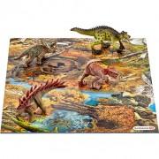 Dinosaurussen bij moerasland puzzel