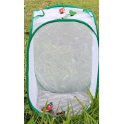 Butterfly Habitat For Kids | Lebeila Butterfly Habitat Large Cage Children Backyard & Outdoor Exploration Live Butterflies Bugs Village Habitat Toy