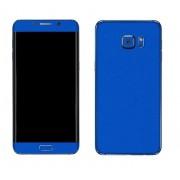 Samsung Galaxy S6 Edge+ Plus SM-G928 FoliaTa Skin Kit Carbon Fata + Spate, Blue