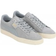Puma Suede Classic Perforation Sneakers For Men(Grey)