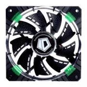 Вентилатор ID-Cooling CF-12025-G, 120мм, LED подсветка в зелено, 4-pin PWM, CF-12025-G_VZ
