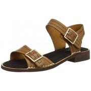 Clarks Women's Tobacco Leather Fashion Sandals - 4 UK/India (37 EU)