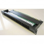 "Patch panel 19""/1U sa 50 RJ-45 kat. 3, telefonski / ISDN"