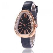 V5 Women Fashion Belt Roman Scale Quartz Watch